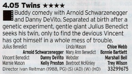 ITV1: Arnie's best comedy? Very possibly.