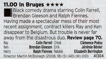 C4: Colin Farrel's best film? If it isn't then it's pretty high up the list