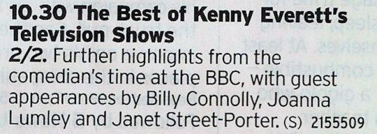BBC4 - More Kenny! Yas!