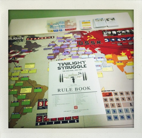 Twilight Struggle – A Board Game Review