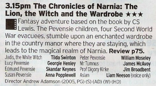 History will probably look back on the attempted Lord of The Rings-ification of the Narnia as a failure but that doesn't stop the films from being enjoyable for what they are, especially this first one