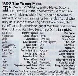 Now the first series of this was a hoot, nicely melding action movie tropes with a UK sitcom. Hopefully the second series will be just as good. Remember part two tomorrow!