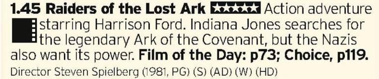 1345 - BBC1 - A perfect film