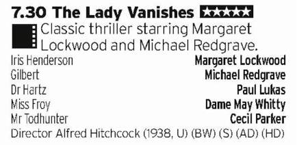 1930 - BBC4 - Classic bit of Hitchcook from a golden era of British cinema