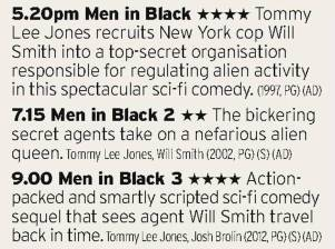 1720 - Film4 - Oh, here's that Men in Black marathon you were all asking for