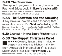 1720 - Channel 4 - If you want your Christmas Eve to be CHRISTMAS then here's the good stuff to inject straight into your festive veins