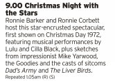 2100 - BBC4 - When you're on the Christmas wind down this could be an interesting one, a snapshot of 70s popular culture in one show. Probably worth it alone just for the bit with The Goodies