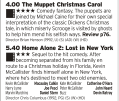 1600 | Channel 4 | Perfect for a post Christmas lunch veg out session, two films that contain the pure spirit of Christmas. Well, the first one does, the second is more about a kid smashing seven shades of hell out of two thieves but the point still stands