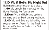 2310 | BBC4 | Four episode of Vic and Bob back to back to see in the New Year? Yes please, thank you very much
