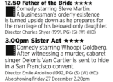 1250 - Channel5 - Here's a wholesome double bill for you, two films that are nearly peak 90s