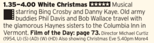 1335 - Channel 4 - You want Christmas? You can't handle the Christmas this film is going to shove right in your face